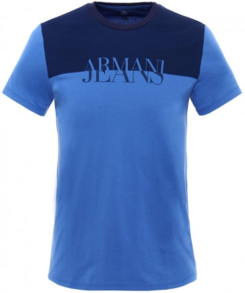 Armani Jeans Colour Block T-Shirt