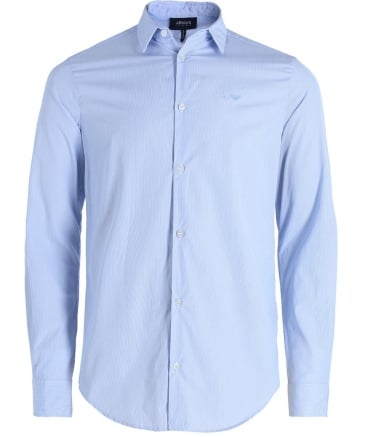 Slim Fit Pinstripe Shirt