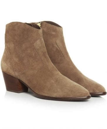 Heidi Baby Soft Suede Ankle Boots