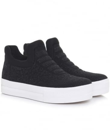 Jaguar Knit Neoprene Trainers