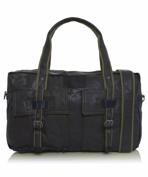 Avirex Leather Alifax Holdall
