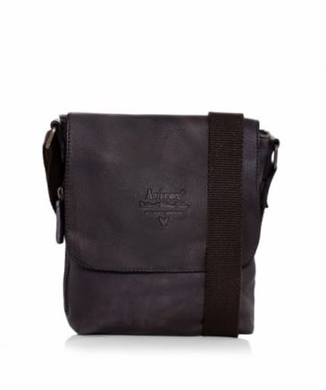 Leather Tigerfly Crossbody Bag