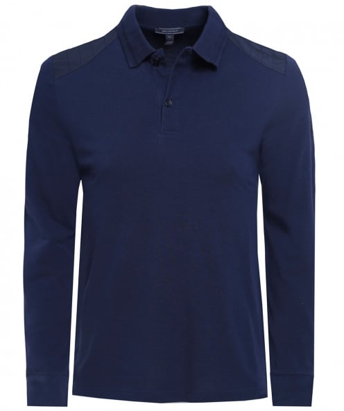 Belstaff Long Sleeve Ashperton Polo Shirt