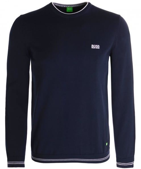 BOSS Green Crew Neck Rime_W17 Jumper