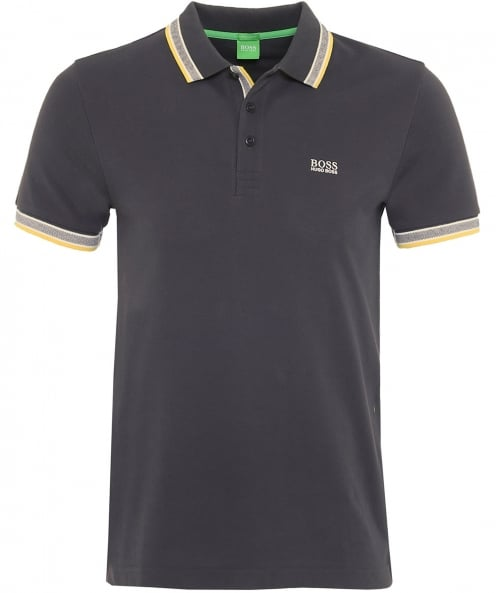 BOSS Green Pique Paddy Polo Shirt