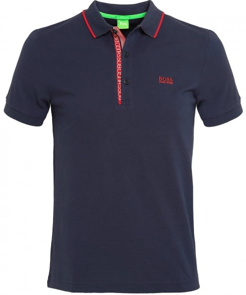 BOSS Green Slim Fit Paule 4 Polo Shirt