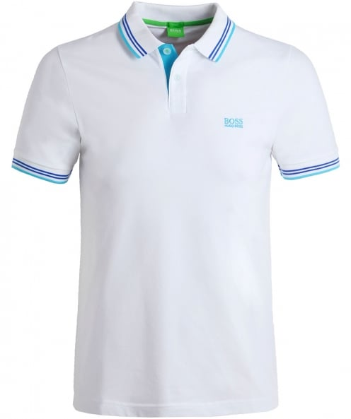 BOSS Green Tipped Paul Polo Shirt