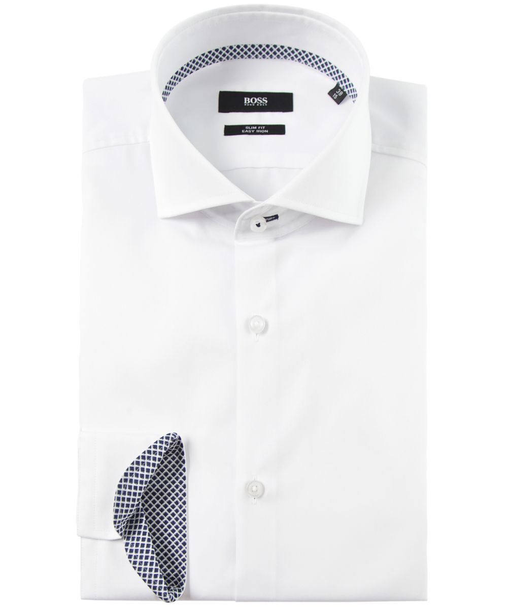 hugo boss slim fit jery shirt available at jules b. Black Bedroom Furniture Sets. Home Design Ideas