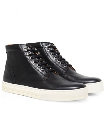 Leather Halb_Itws Trainers