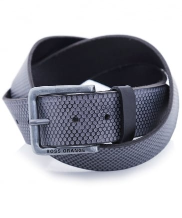 Leather Jeekin_Sz40_ltem Belt