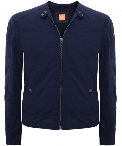 BOSS Orange Lightweight Onate Biker Jacket