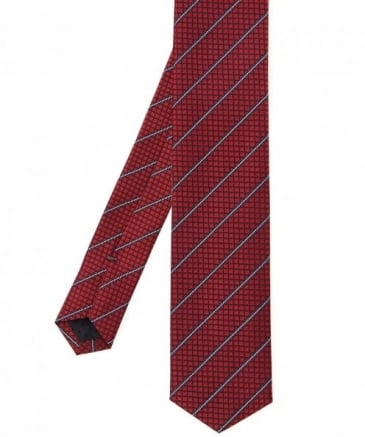 Silk Patterned Traveller Tie