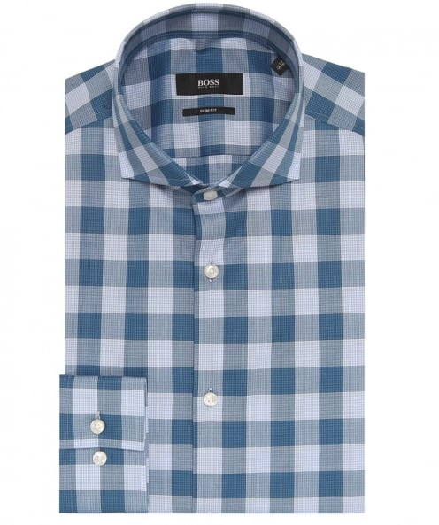 BOSS Slim Fit Jason Check Shirt