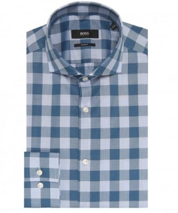 Slim Fit Jason Check Shirt