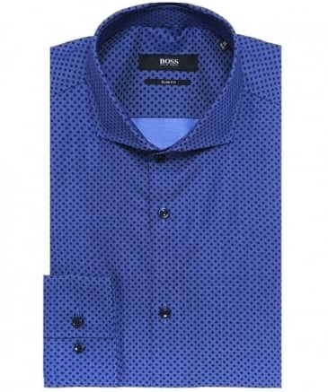 Slim Fit Jason Polka Dot Shirt