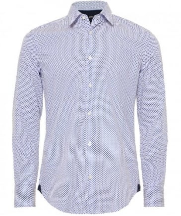 Slim Fit Polka Dot Reid_48F Shirt