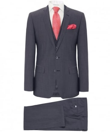 Slim Fit Silk Blend Hutson4/Gander1 WE Suit