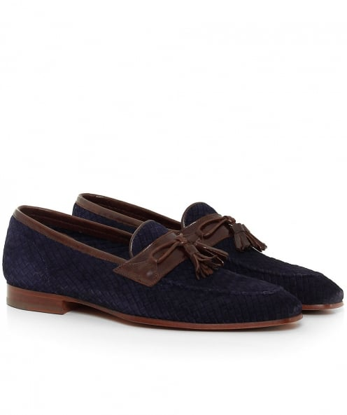 Calpierre Suede Weaved Kampur Loafers