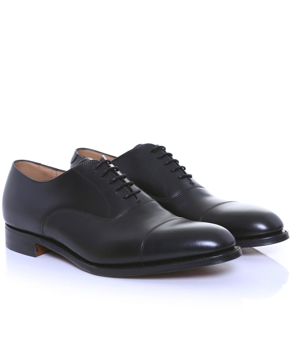 cheaney black calf leather lime oxford shoes jules b
