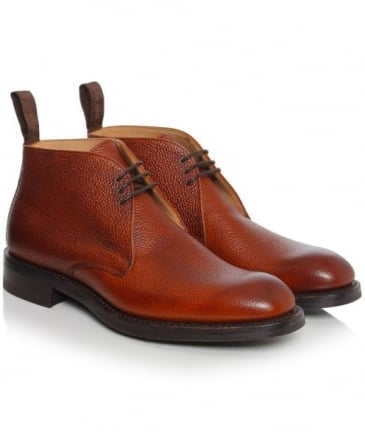 Jackie Grain Leather Boots