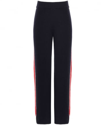 Cashmere Striped Trousers