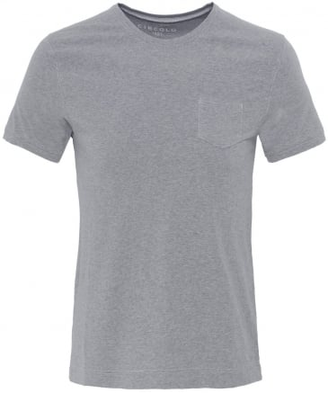 Crew Neck Pocket T-Shirt