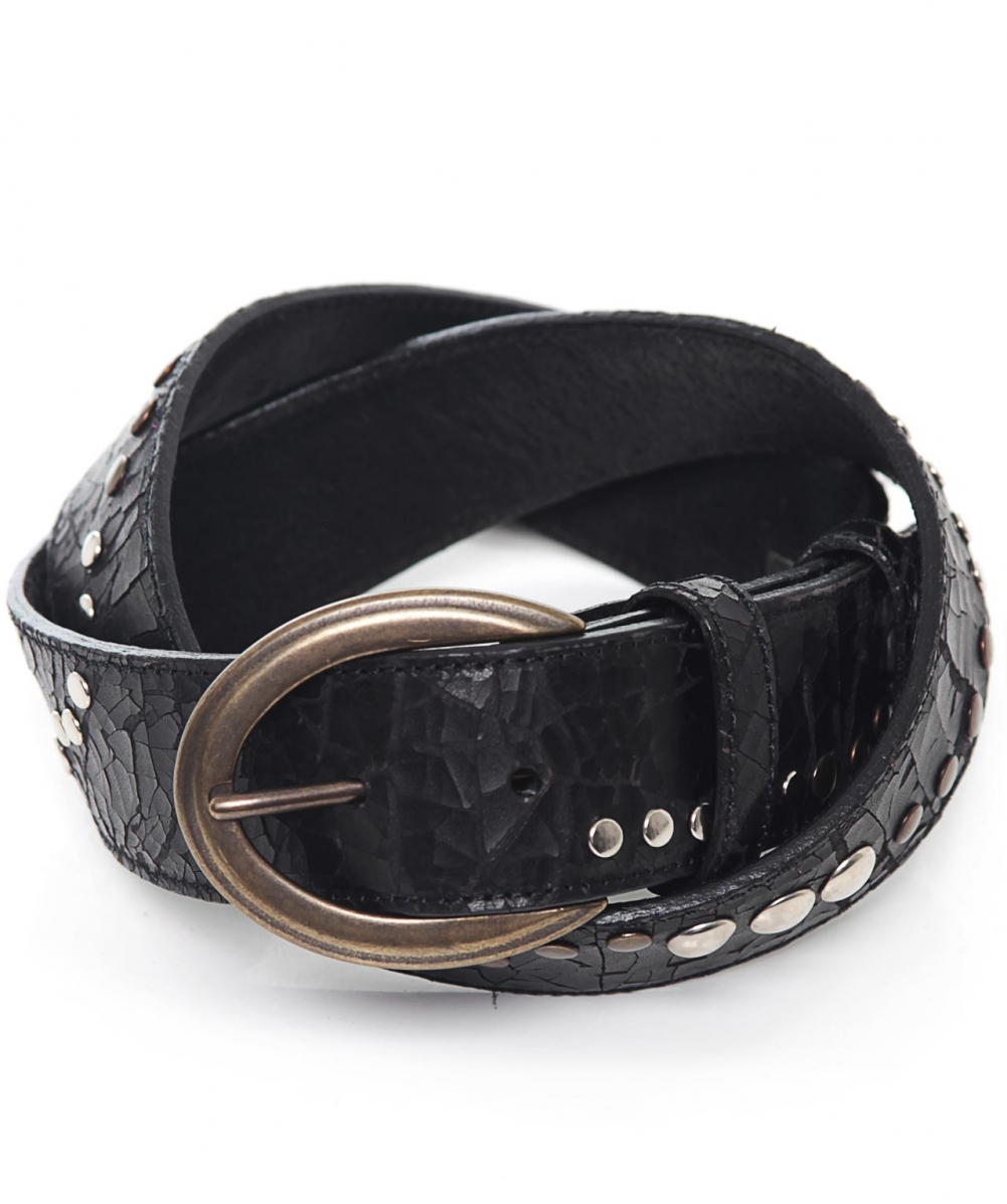 s elliot studded leather belt available at