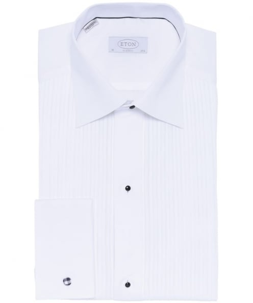 Image For Pleated Front Dress Shirt