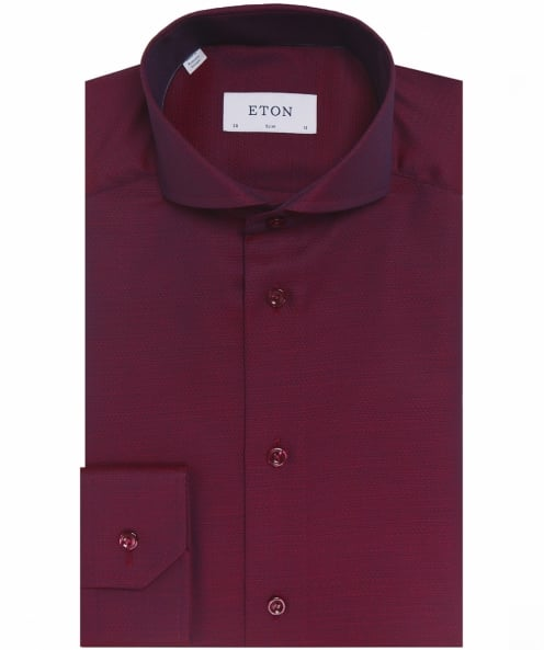 Eton Slim Fit Cambridge Twill Shirt