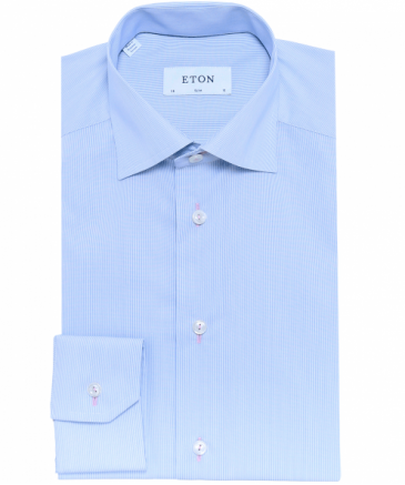 Slim Fit Fine Striped Shirt