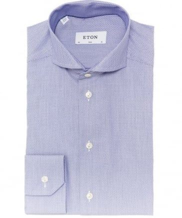 Slim Fit Warwick Satin Shirt