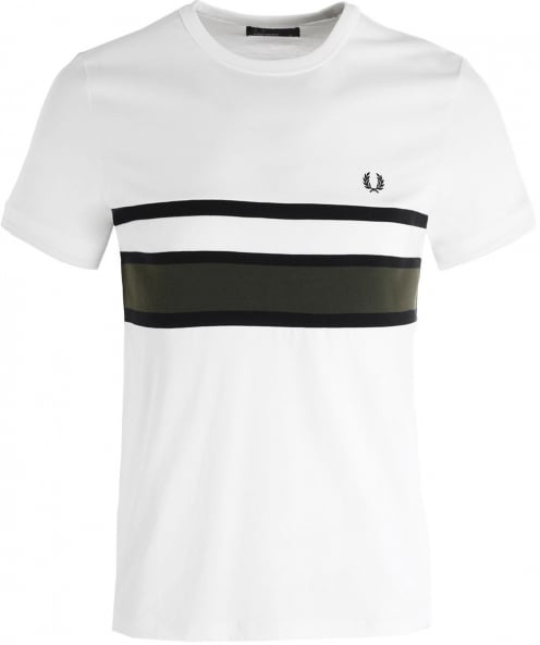Fred Perry Bomber Stripe T-Shirt