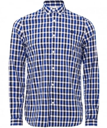 Three-Colour Gingham Shirt