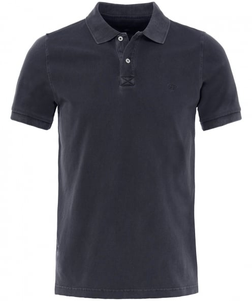 Fynch-Hatton Washed Pique Polo Shirt
