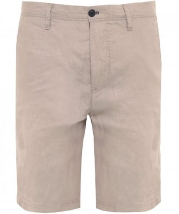 Regular Fit Linen Shorts