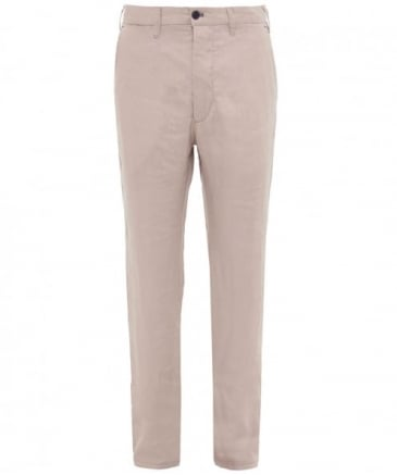 Regular Fit Linen Trousers