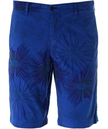Regular Fit Printed Bermuda Shorts