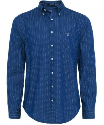 Regular Fit Multi Dot Shirt
