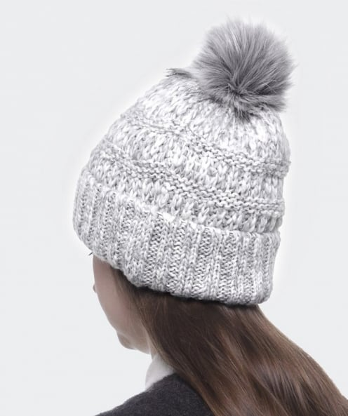 Cable Bobble Hat Knitting Pattern : Gebeana Cable Knit Bobble Hat available at Jules B