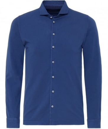 Pique Jersey Cotton Shirt