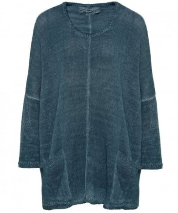 Pocket Linen Jumper