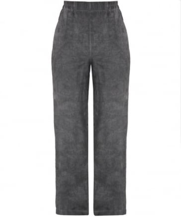 Textured Linen Trousers