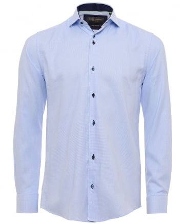Cotton Houndstooth Shirt