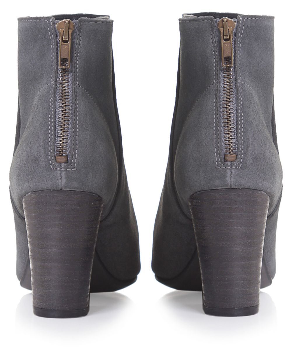 h by hudson grey meli suede boots jules b