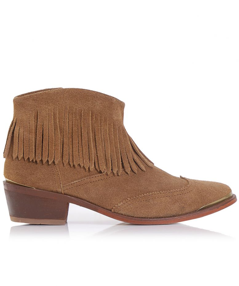 h by hudson tala suede fringe boots available at jules b