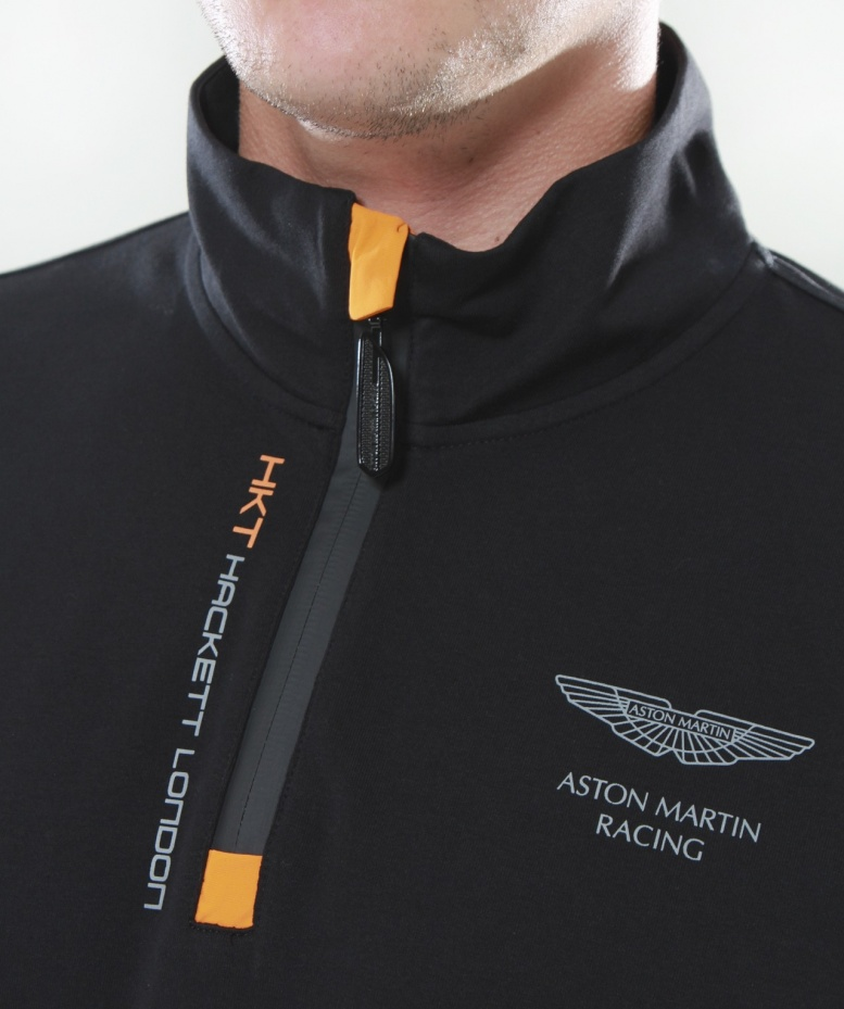 hackett aston martin racing jersey sweatshirt available at. Black Bedroom Furniture Sets. Home Design Ideas