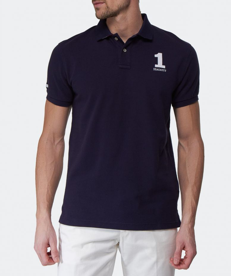 Hackett Tailored Fit Classic Polo Shirt Available At Jules B