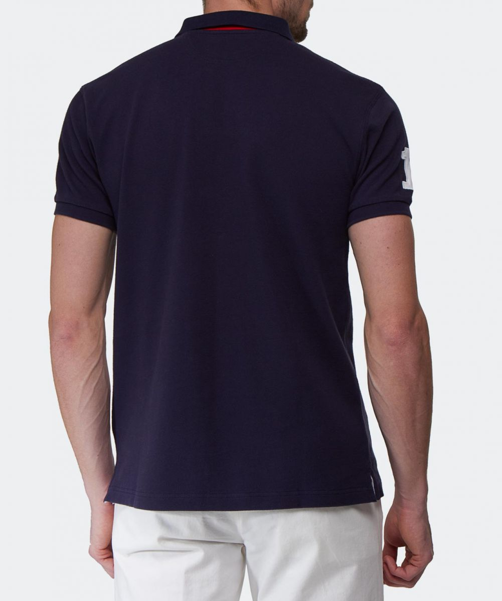 Hackett tailored fit classic polo shirt available at jules b for Best online tailored shirts