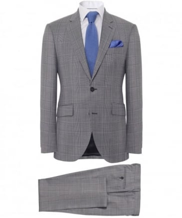 Wool Check Suit