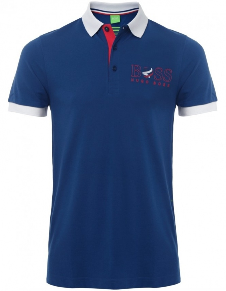 hugo boss green world cup paddy polo shirt available at. Black Bedroom Furniture Sets. Home Design Ideas